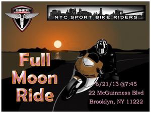 Full Moon Ride flyer