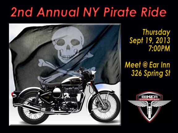 Pirate Ride 2013