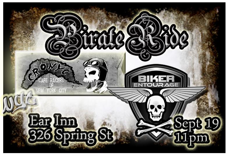 Pirate Ride 2015 Flyer CRONYC